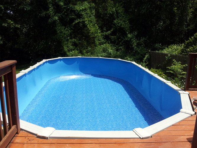 Resurface & Replace - Above Ground Pool