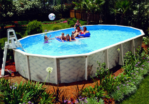 Steel Wall Swimming Pools Kits