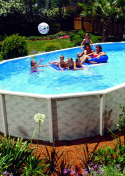 Steel Wall Swimming Pools Swimming Pool Systems For Above The Ground