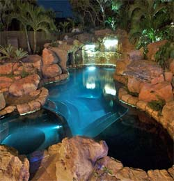 custom pools custom swimming pools - Custom Swimming Pool Designs