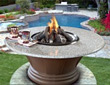 Fire Pits - Pool Side