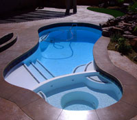 Small Pool/Spa Combo, St George UT