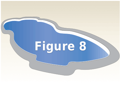 Figure 8 Fiberglass Pools Kits