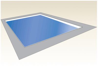 Large Kiddie Fiberglass Pool