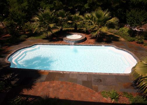 Large Sport Fiberglass Pool - Phoenix
