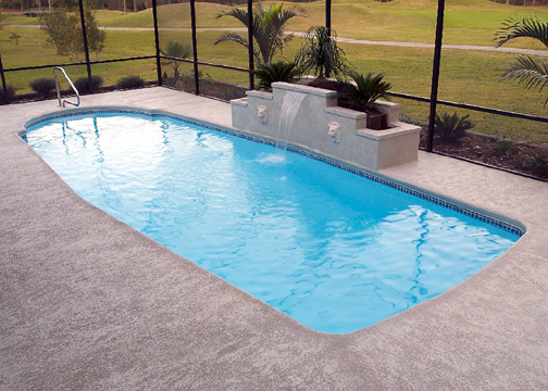 Medium Classic Fiberglass Pool - Scottsdale