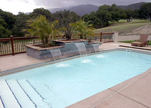 Medium Classic Fiberglass Pool - Waikiki II
