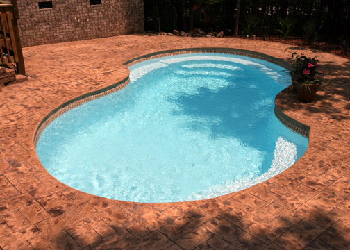Medium Figure 8 Fiberglass Pool - Venetian