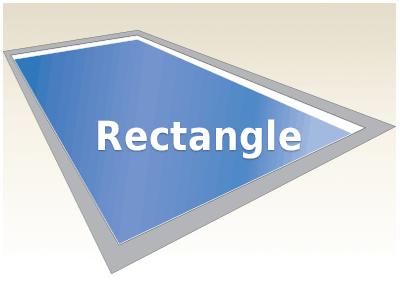 Rectangle Fiberglass Pools Kits