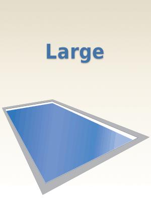 Large Fiberglass Pools