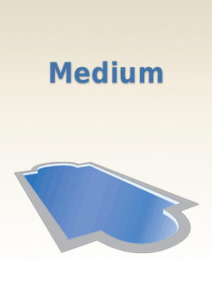 Medium Fiberglass Pools