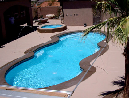 Fiberglass Swimming Pools - Inground Pool