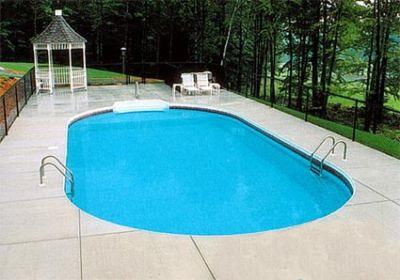 Classic Vinyl Liner Pool - Oval