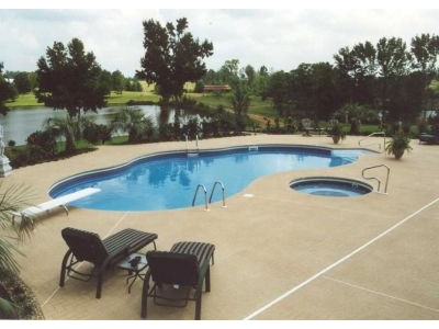 Freeform Vinyl Liner Pool - Dominican