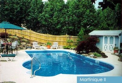 Unique Vinyl Liner Pool - Martinique