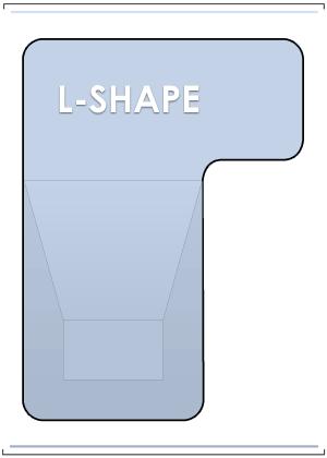 L-Shape Vinyl Liner Pools
