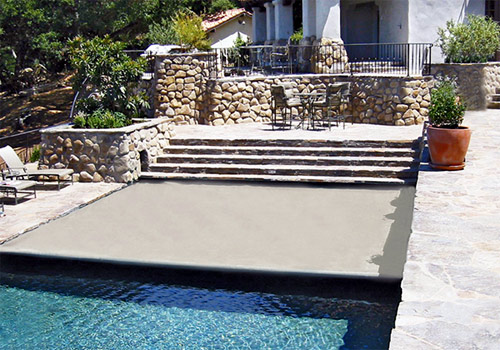 Automatic Safety Pool Covers - Pool Cover