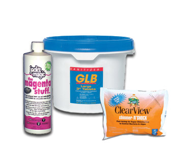 Pool Chemicals - Pool Supply